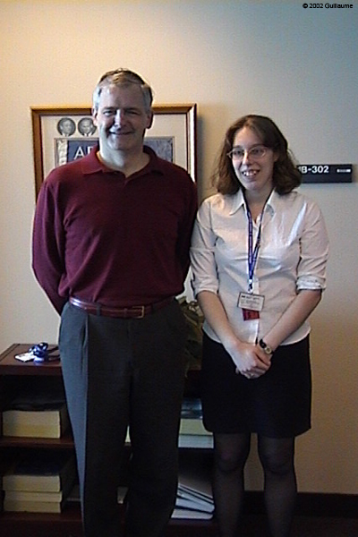 Marie-Hélène Cyr and Marc Garneau